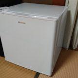 冷蔵庫設置とシャワーヘッド交換